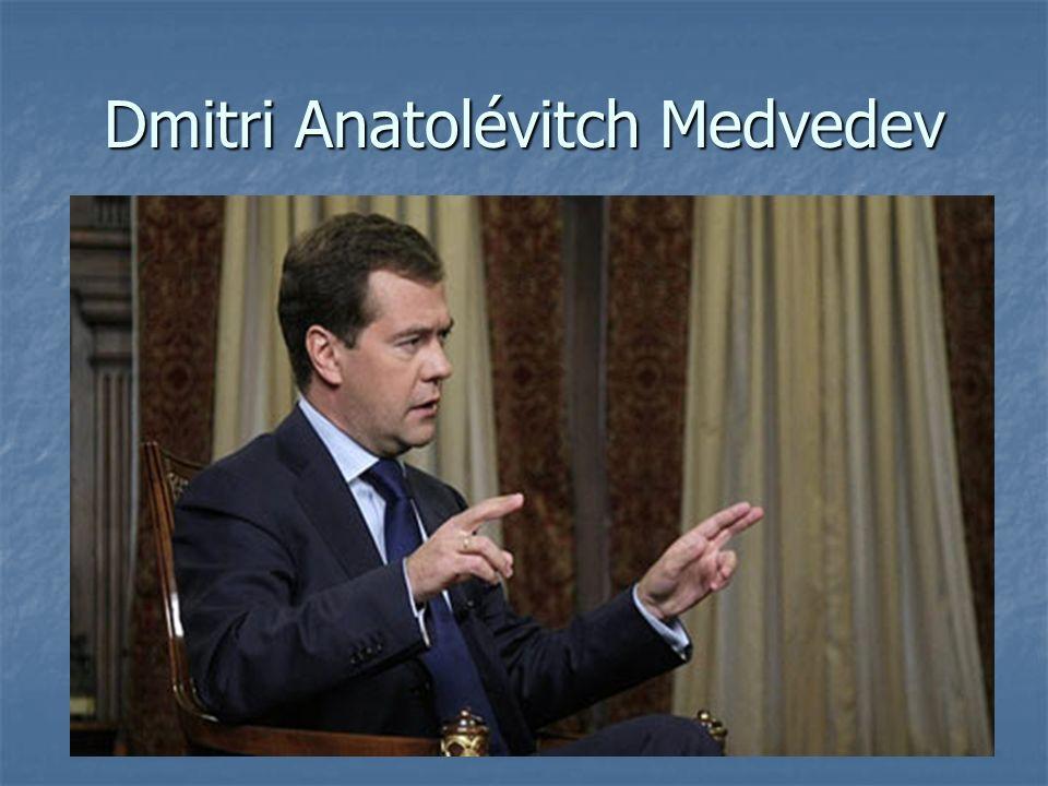Dmitri Anatolévitch Medvedev