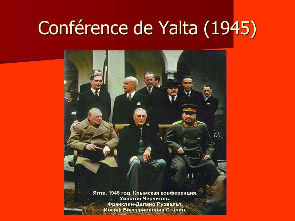 Conférence de Yalta (1945)