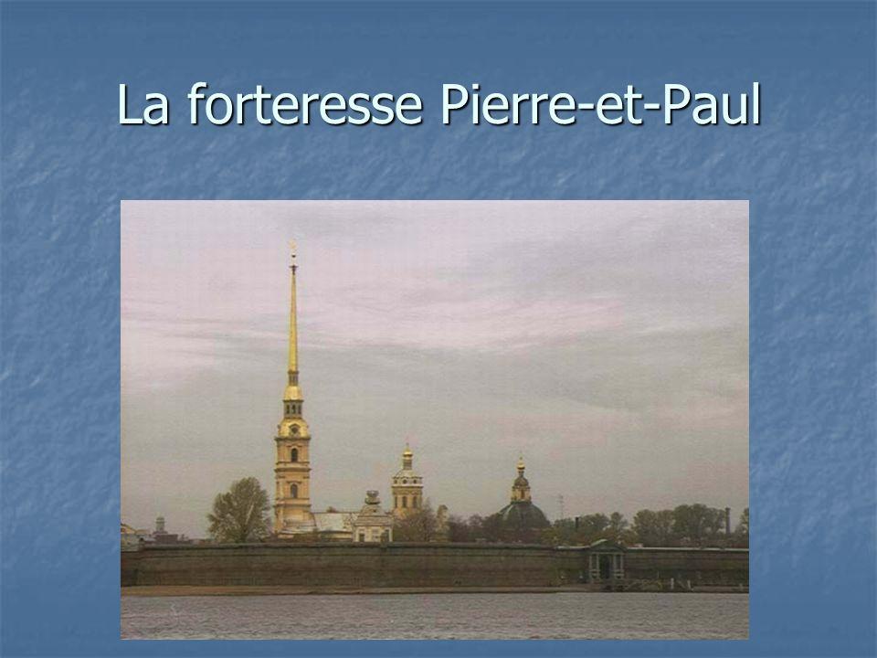 La forteresse Pierre-et-Paul