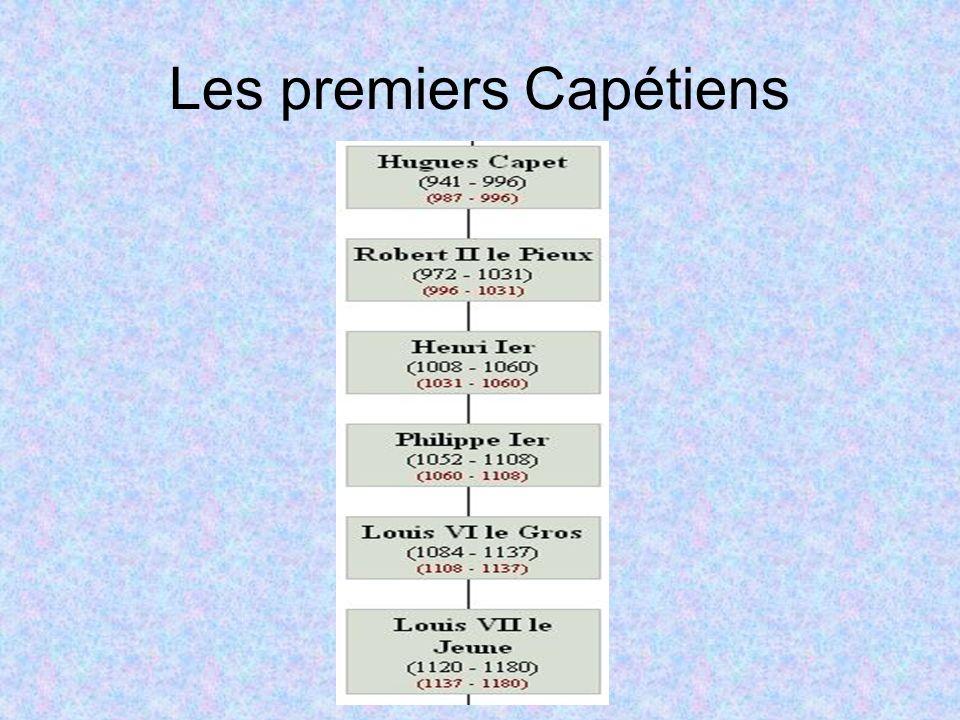 Les premiers Capétiens