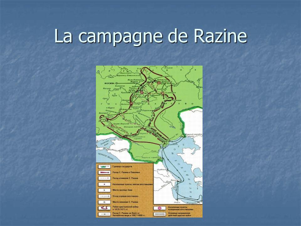 La campagne de Razine