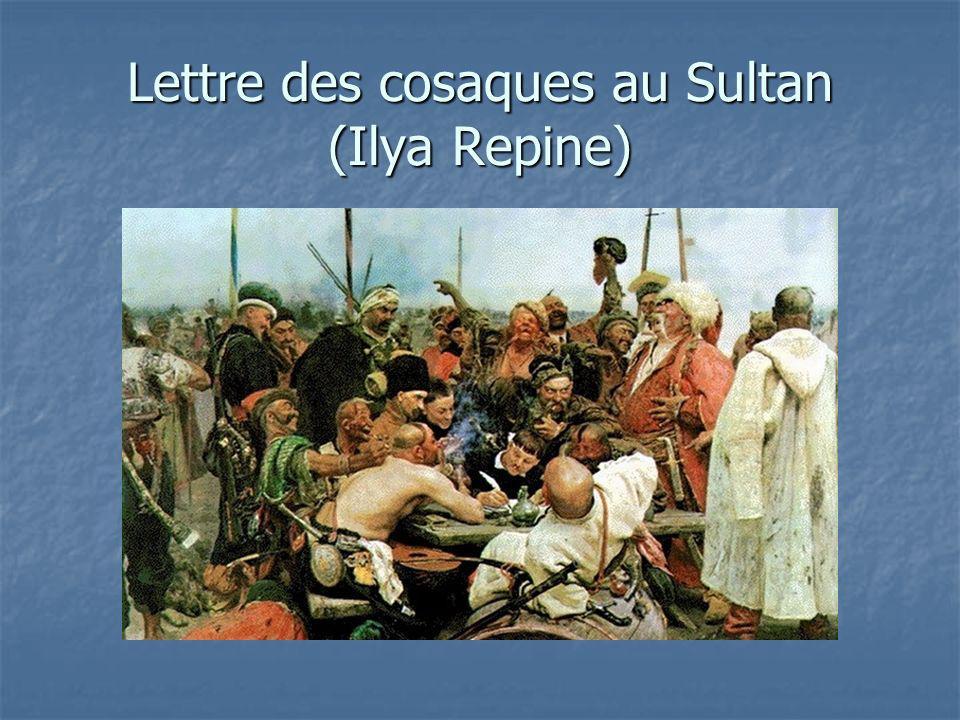 Lettre des cosaques au Sultan (Ilya Repine)