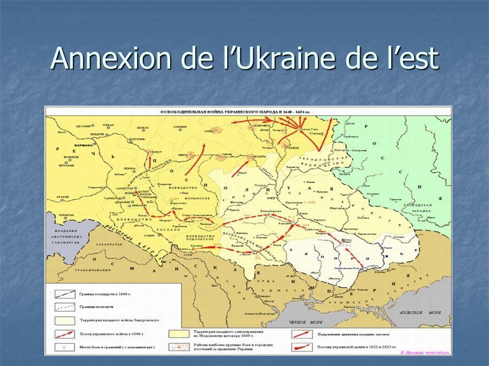 Annexion de lUkraine de lest