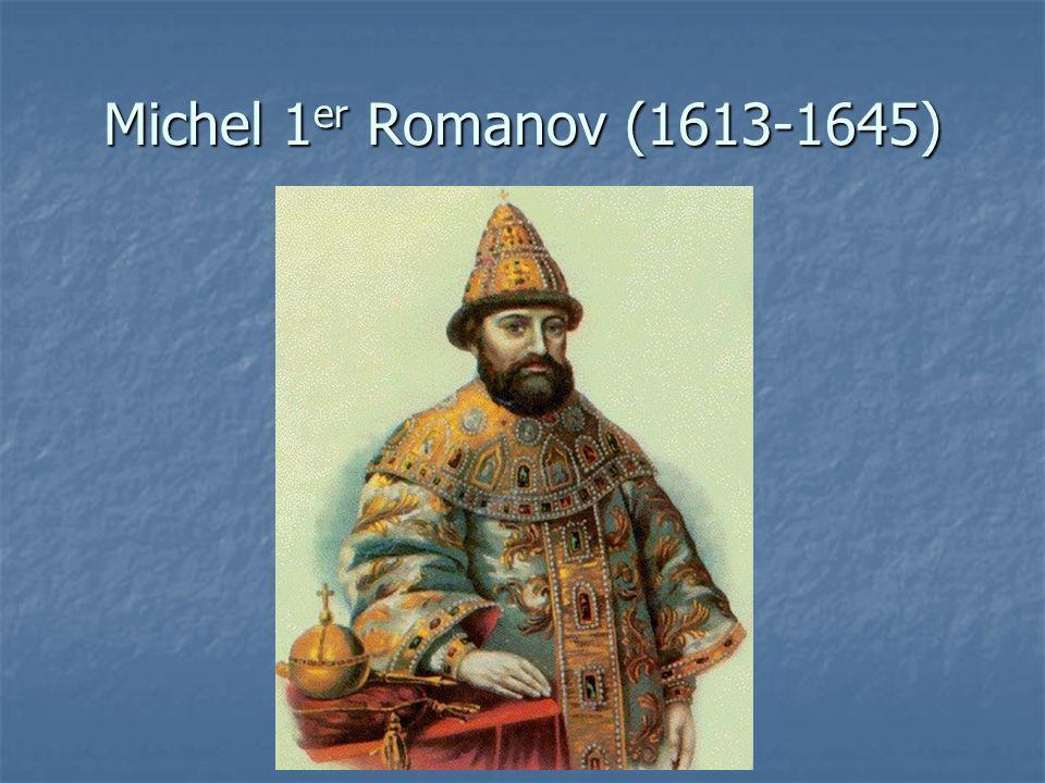 Michel 1 er Romanov (1613-1645)