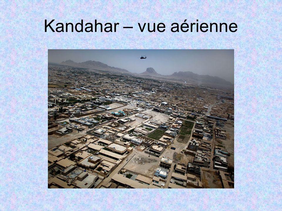 Kandahar – vue aérienne