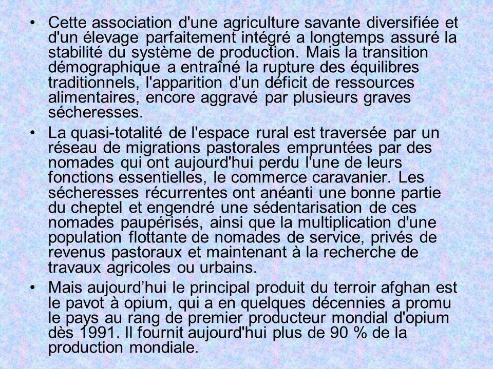 Cette association d'une agriculture savante diversifiée et d'un élevage parfaitement intégré a longtemps assuré la stabilité du système de production.