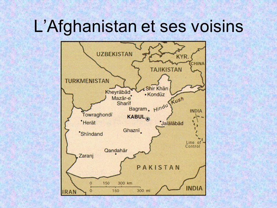 LAfghanistan et ses voisins