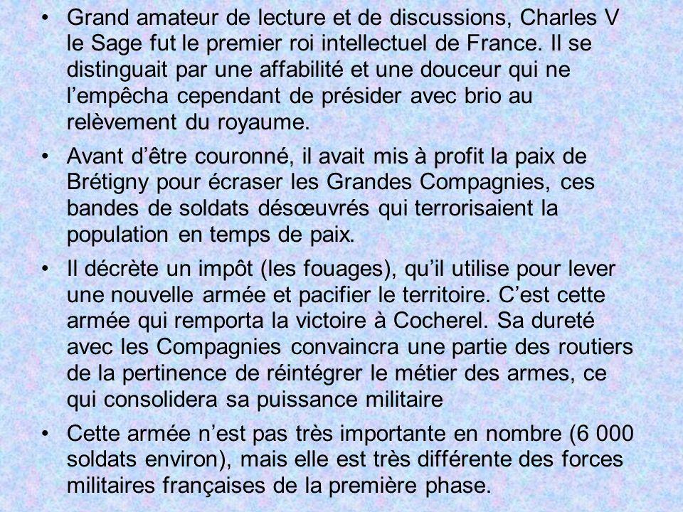Grand amateur de lecture et de discussions, Charles V le Sage fut le premier roi intellectuel de France.