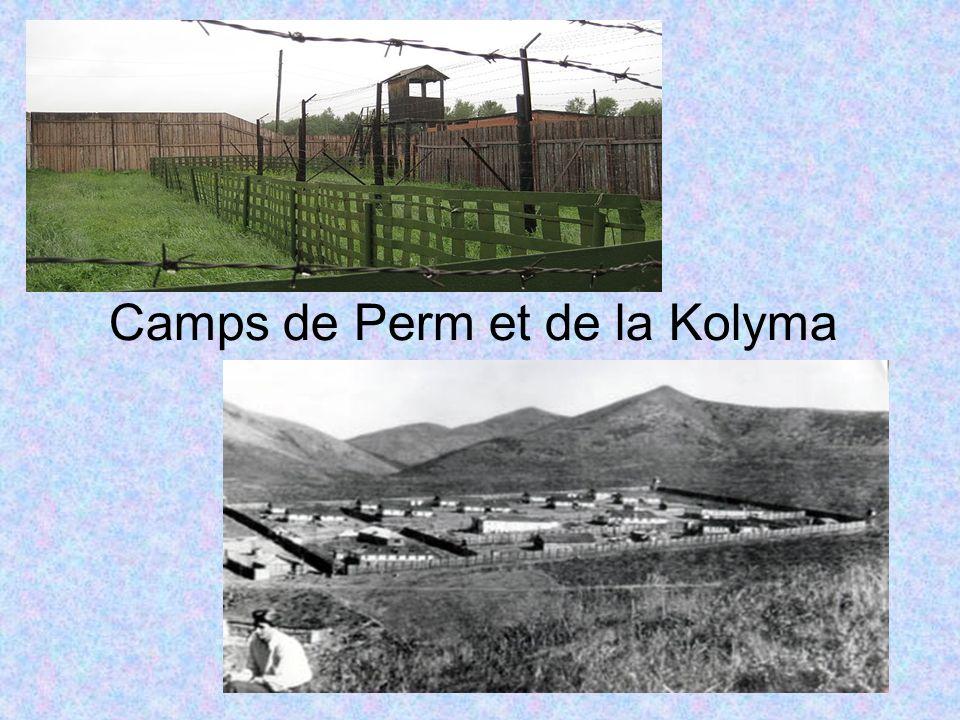 Camps de Perm et de la Kolyma