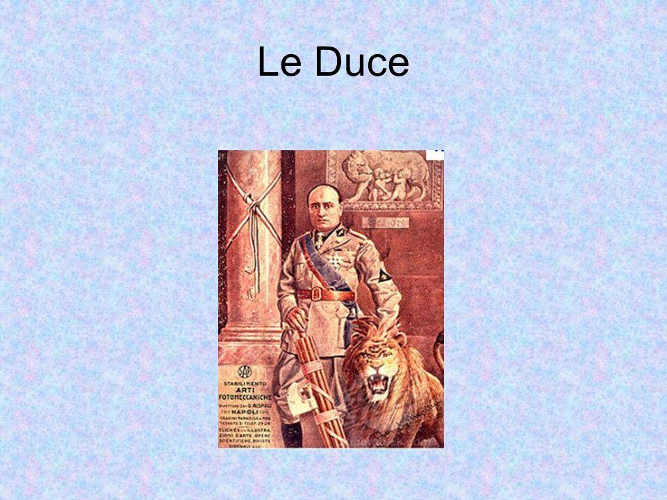 Le Duce