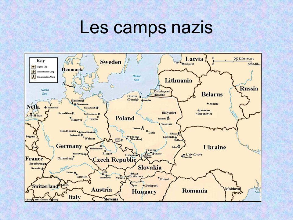 Les camps nazis