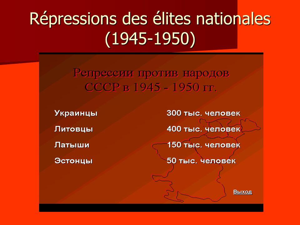 4.3 – LURSS et le camp socialiste - Ici aussi, le temps est dabord à la détente, avec le rétablissement de relations normales entre lURSS et la Yougoslavie.