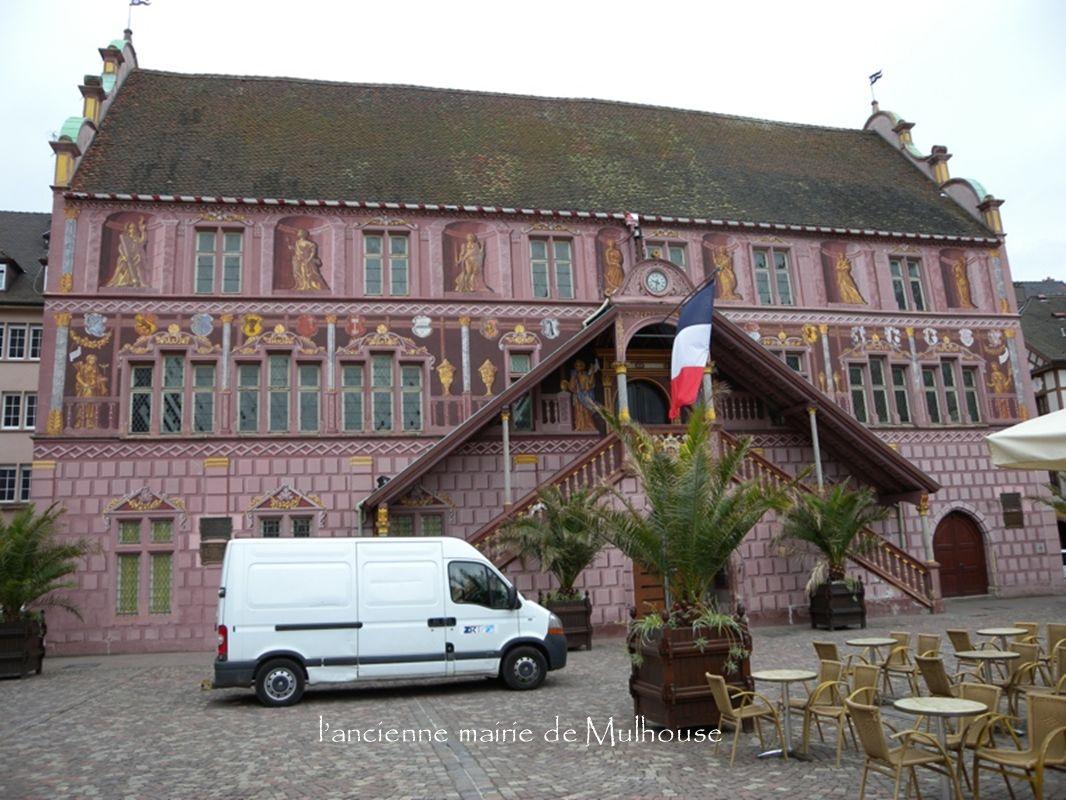 lancienne mairie de Mulhouse