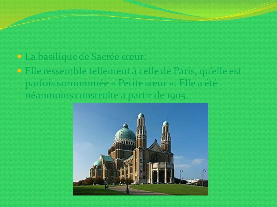 La basilique de Sacrée cœur: Elle ressemble tellement à celle de Paris, quelle est parfois surnommée « Petite sœur ». Elle a été néanmoins construite