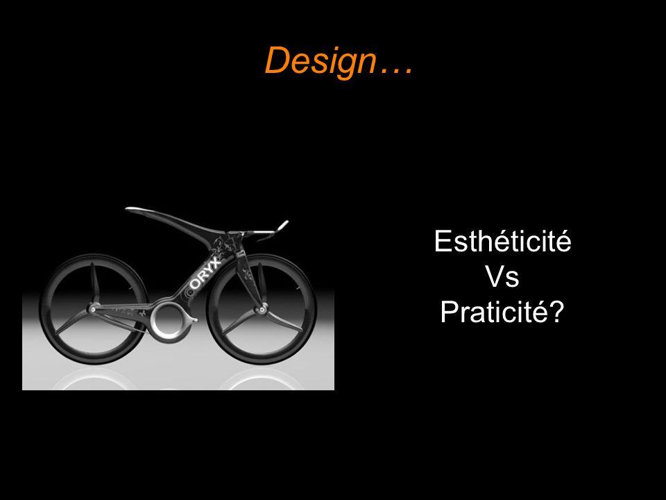 Design… Esthéticité Vs Praticité