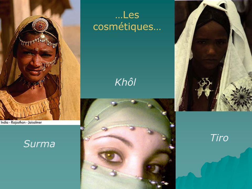 Khôl Surma Tiro …Les cosmétiques…