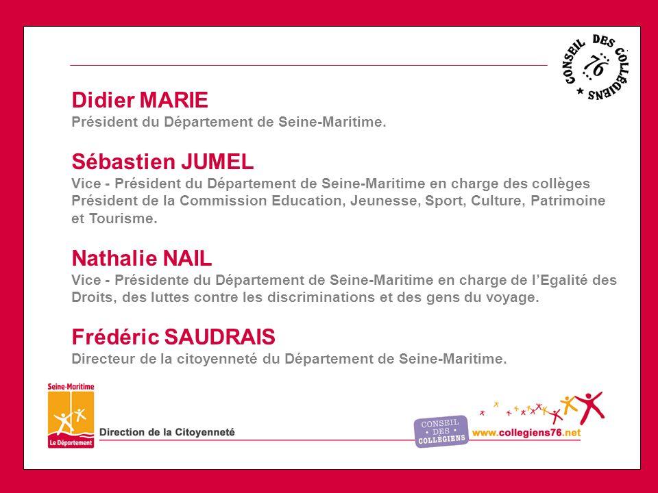 Didier MARIE Président du Département de Seine-Maritime.