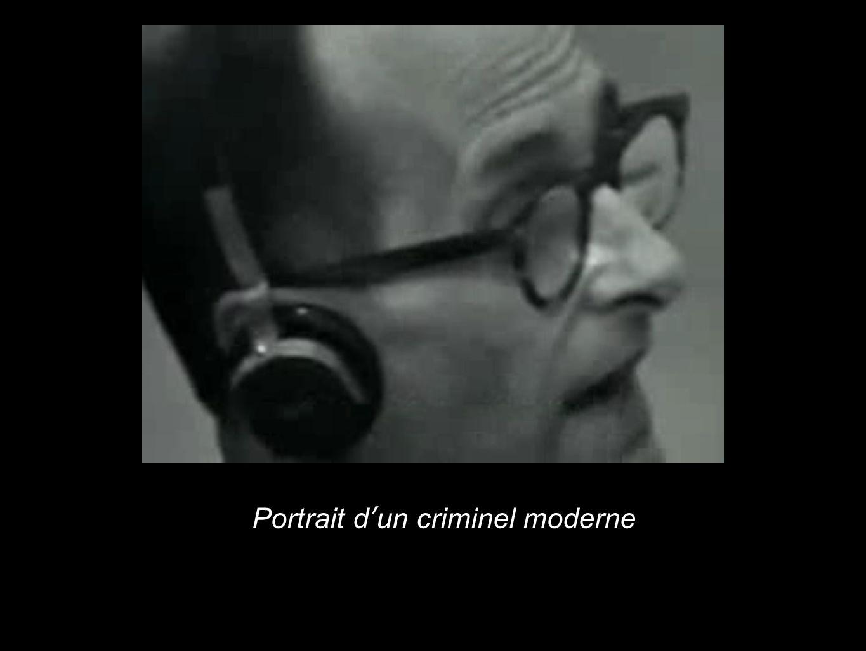 Portrait dun criminel moderne