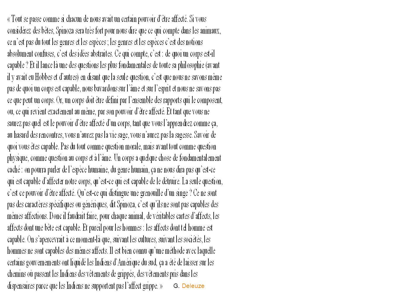 G. Deleuze