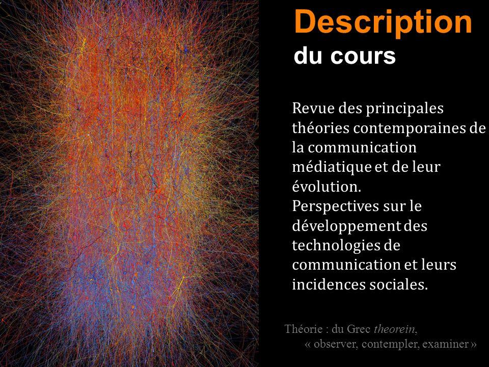 Revue des principales théories contemporaines de la communication médiatique et de leur évolution. Perspectives sur le développement des technologies