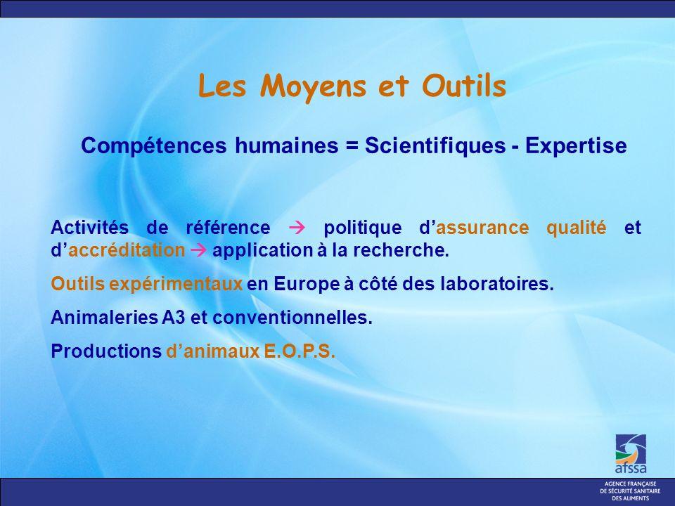 Les Moyens et Outils Activités de référence politique dassurance qualité et daccréditation application à la recherche.