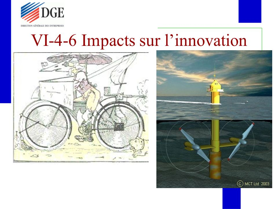 VI-4-6 Impacts sur linnovation