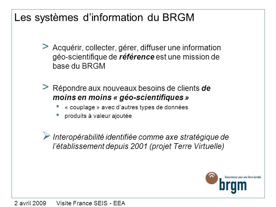 Les systèmes dinformation du BRGM > Acquérir, collecter, gérer, diffuser une information géo-scientifique de référence est une mission de base du BRGM