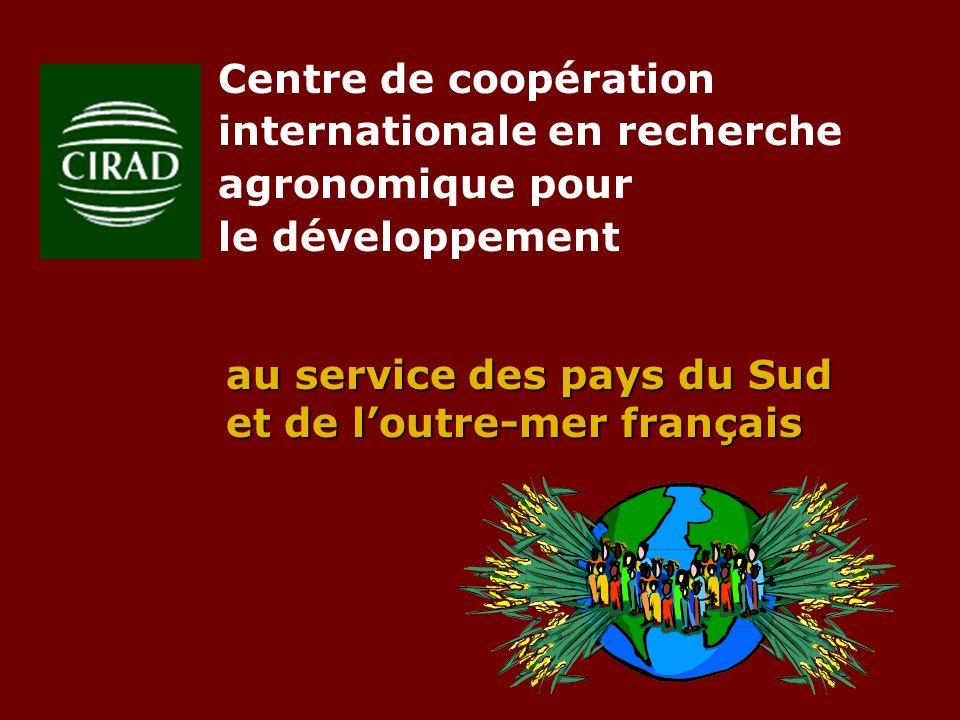 Centre de coopération internationale en recherche agronomique pour le développement au service des pays du Sud et de loutre-mer français