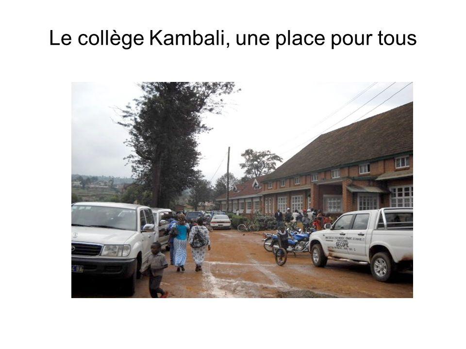 Le collège Kambali, une place pour tous