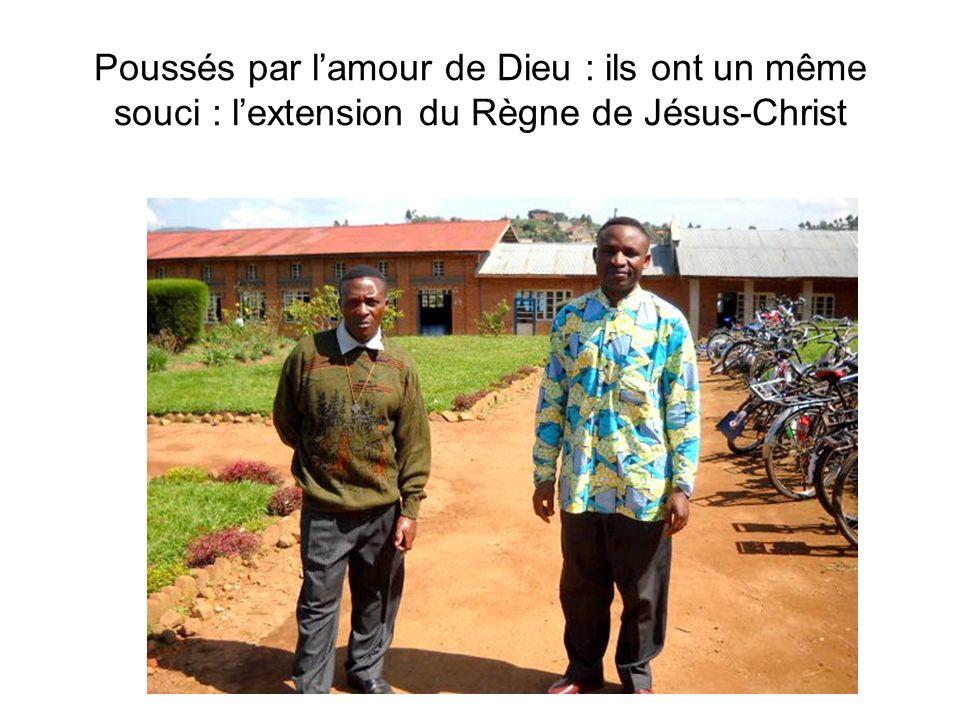 Poussés par lamour de Dieu : ils ont un même souci : lextension du Règne de Jésus-Christ
