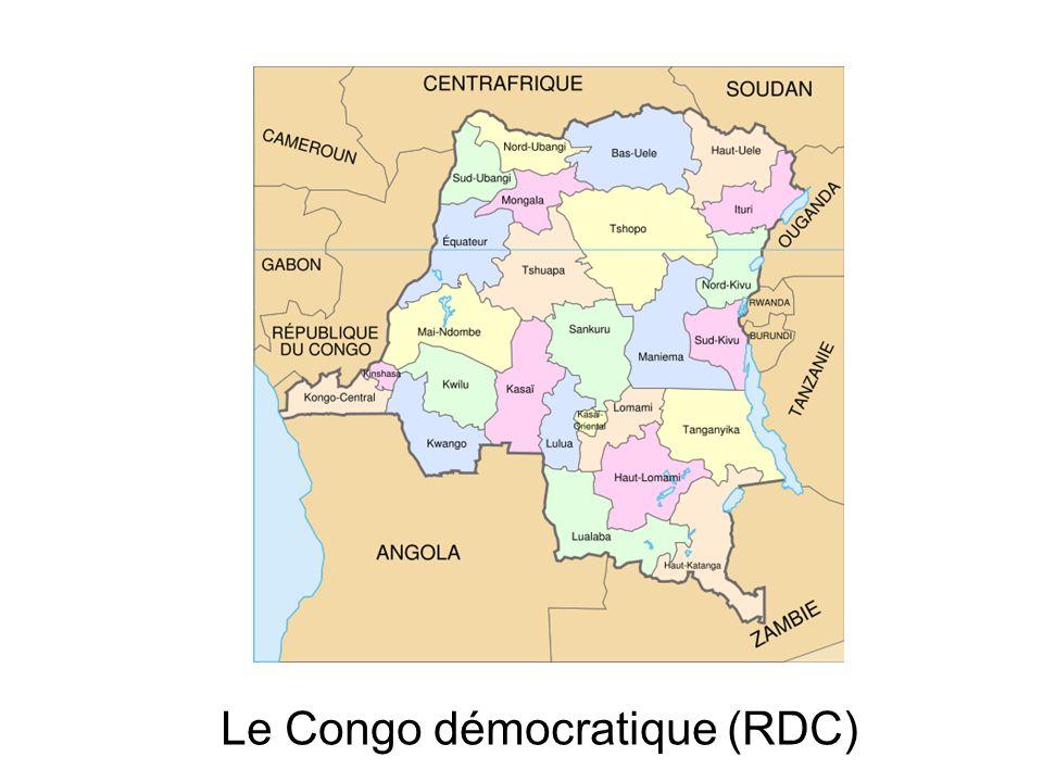 Le Congo démocratique (RDC)