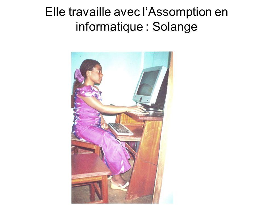 Elle travaille avec lAssomption en informatique : Solange
