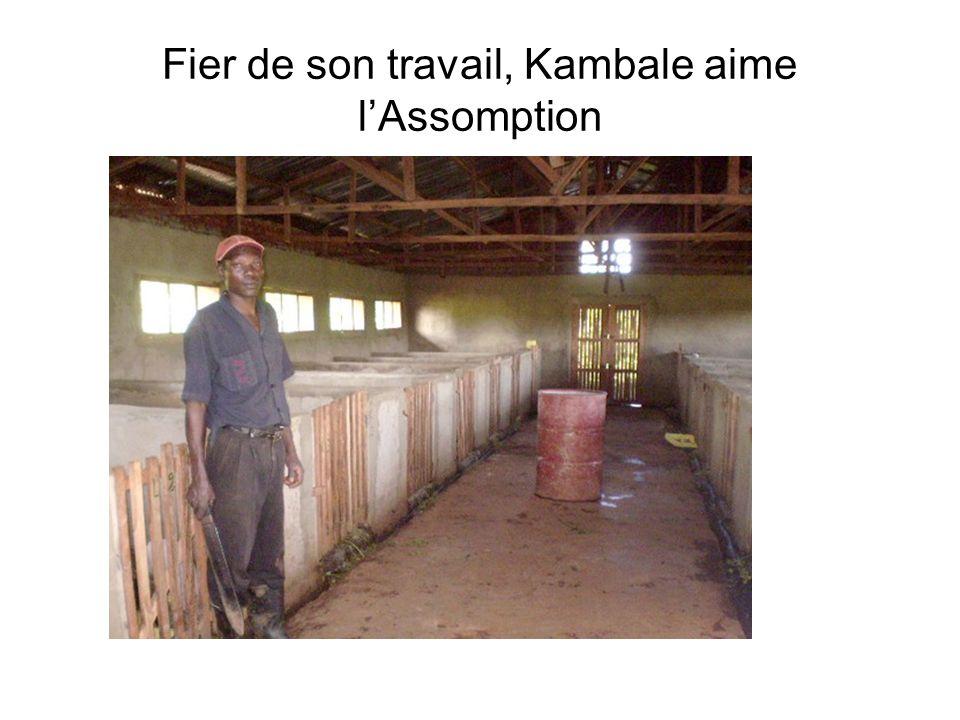 Fier de son travail, Kambale aime lAssomption
