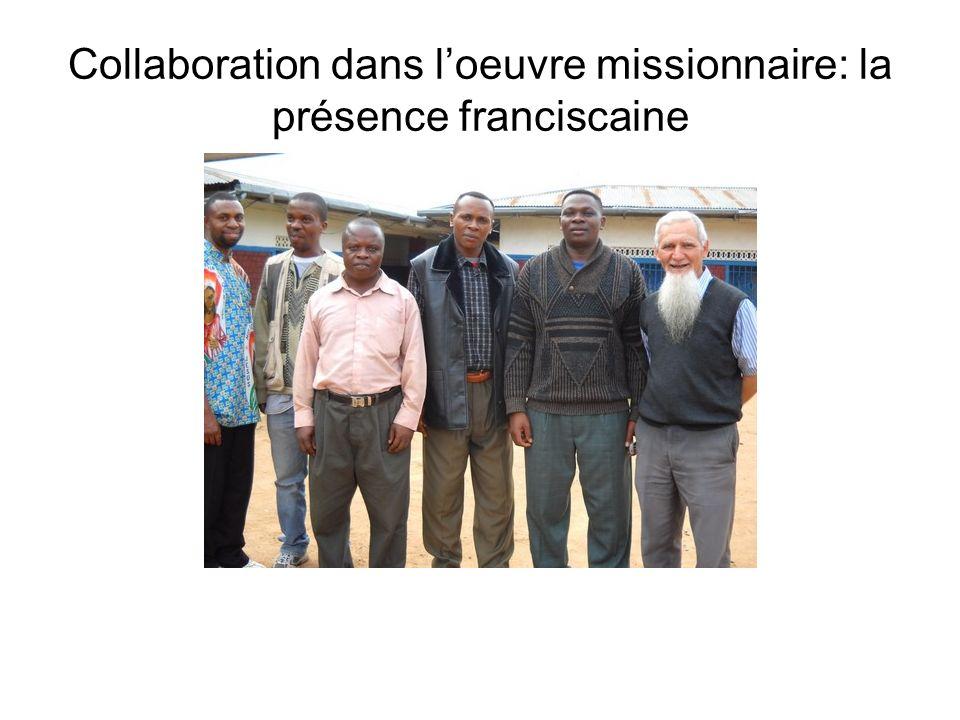 Collaboration dans loeuvre missionnaire: la présence franciscaine