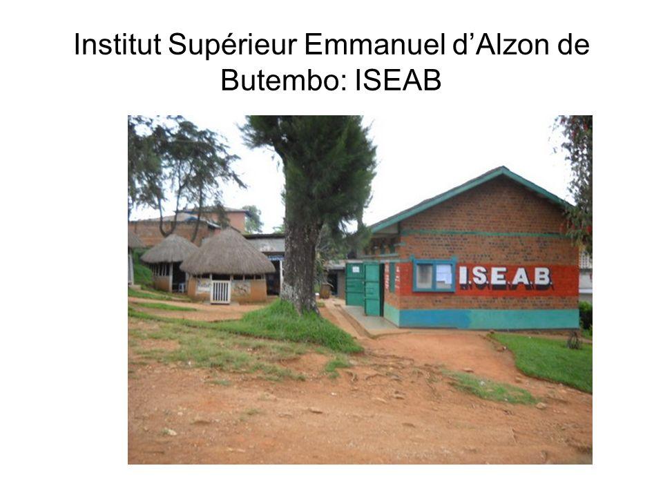 Institut Supérieur Emmanuel dAlzon de Butembo: ISEAB