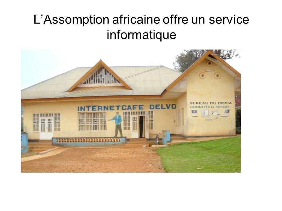LAssomption africaine offre un service informatique