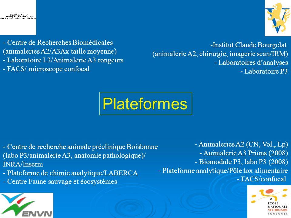 Plateformes - Centre de Recherches Biomédicales (animaleries A2/A3Ax taille moyenne) - Laboratoire L3/Animalerie A3 rongeurs - FACS/ microscope confoc