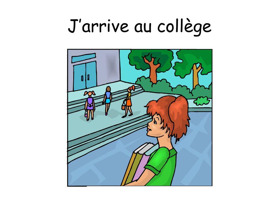 Jarrive au collège