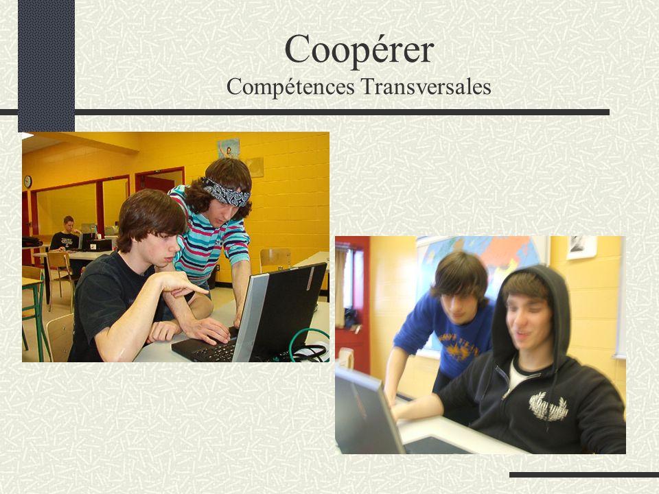 Coopérer Compétences Transversales