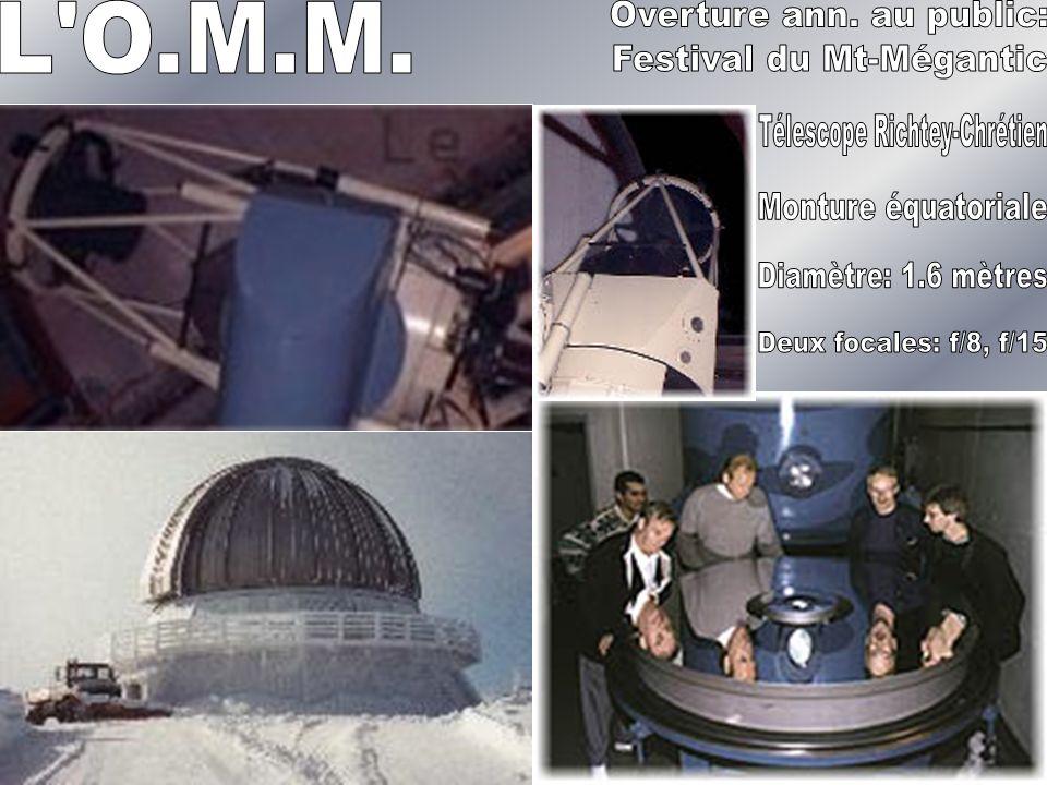 1998, une nouvelle aile de l ASTROLab… le cosmolab Vélan M.