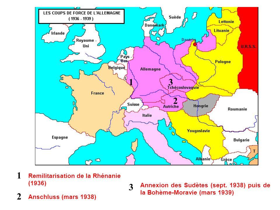 I. Comment lAxe a-t-il tenté de dominer le monde en 1939 - 1941 ?