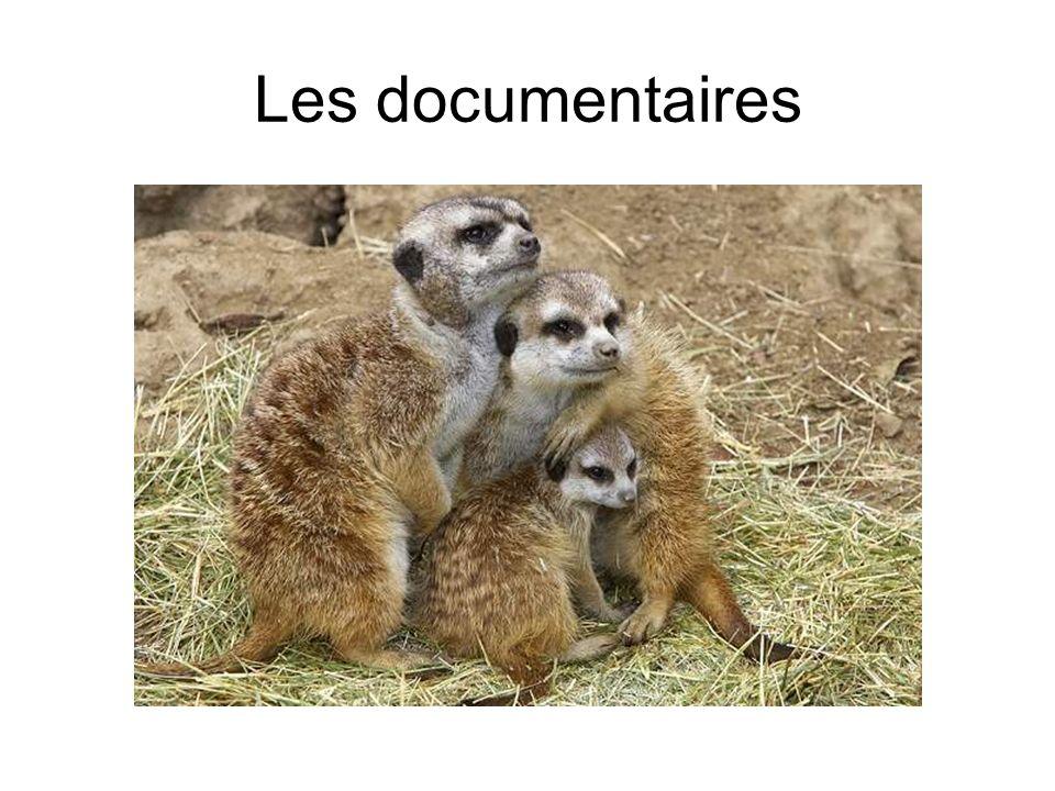 Les documentaires