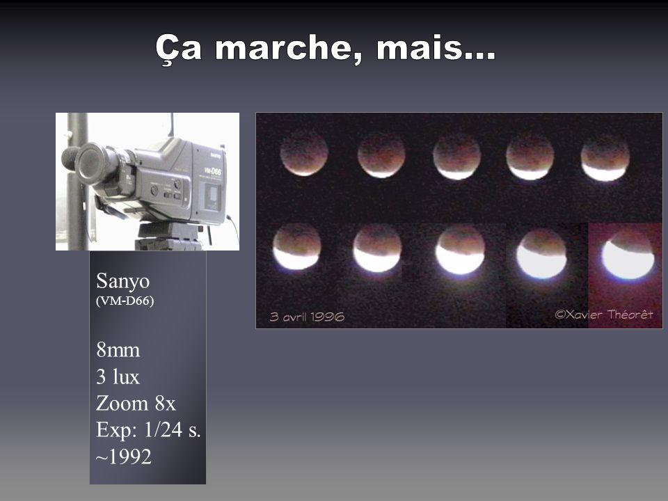 SBIG (STV) Aucun 0 lux Zoom -- Exp: 60+ s. ~1999