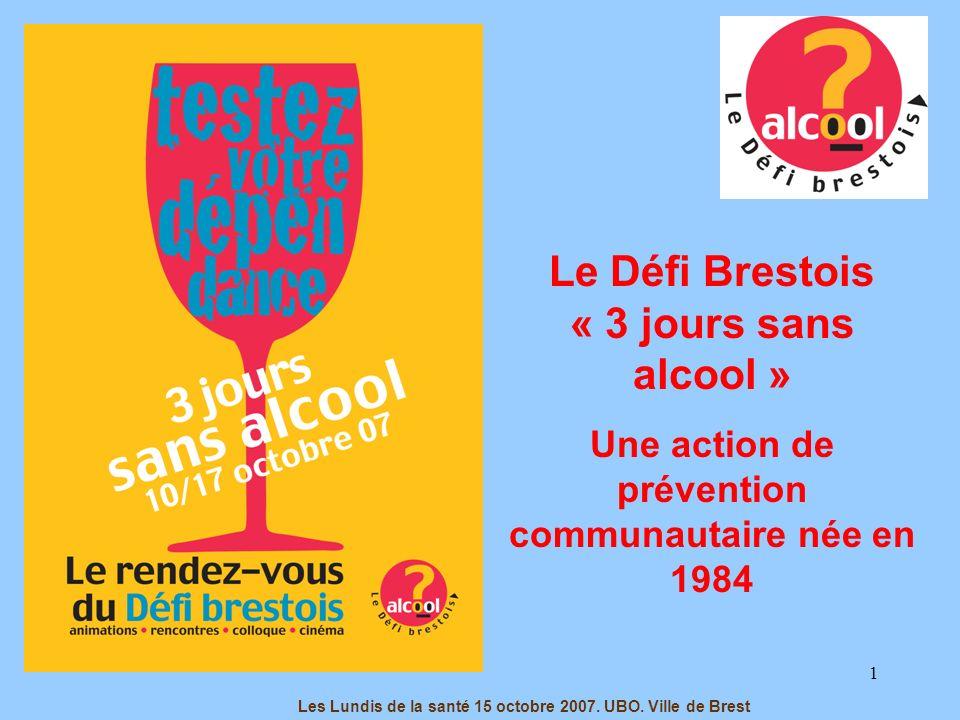 22 Association « Le Défi Brestois », Locaux de lAssociation Nationale de Prévention en Alcoologie et Addictologie dans le Finistère –ANPAA 29- 1 rue Massillon, 29200, Brest.