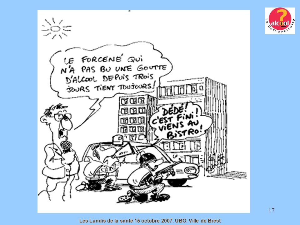 17 Les Lundis de la santé 15 octobre 2007. UBO. Ville de Brest