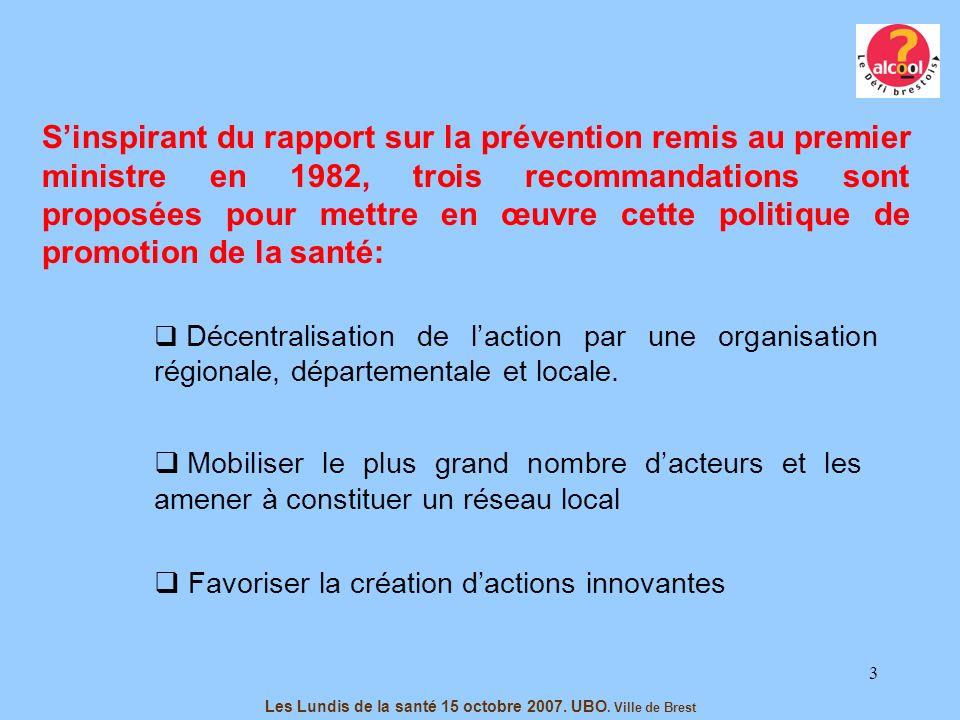 4 Les Lundis de la santé 15 octobre 2007.UBO.