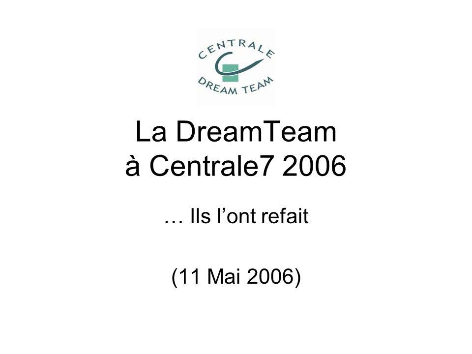 La DreamTeam à Centrale7 2006 … Ils lont refait (11 Mai 2006)