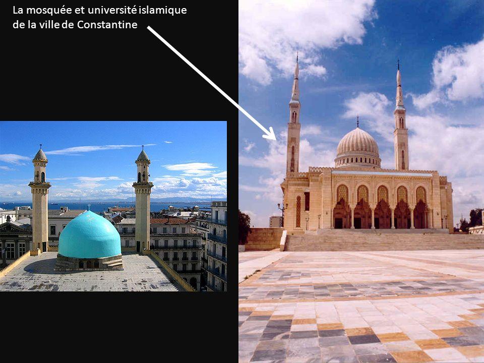 La mosquée et université islamique de la ville de Constantine