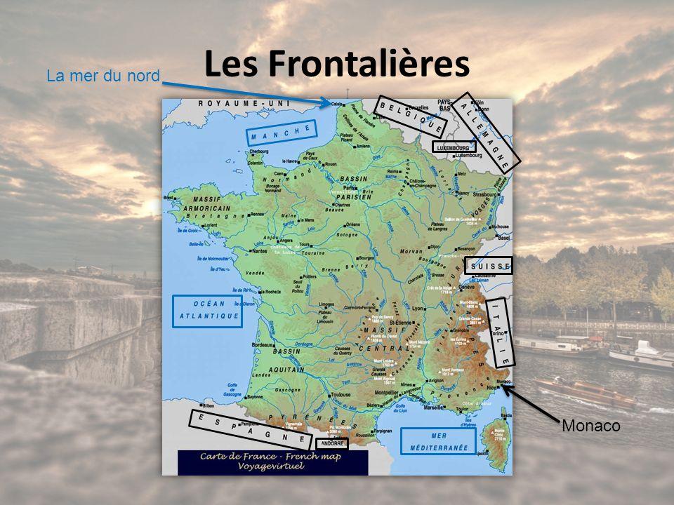 Les Frontalières La mer du nord Monaco