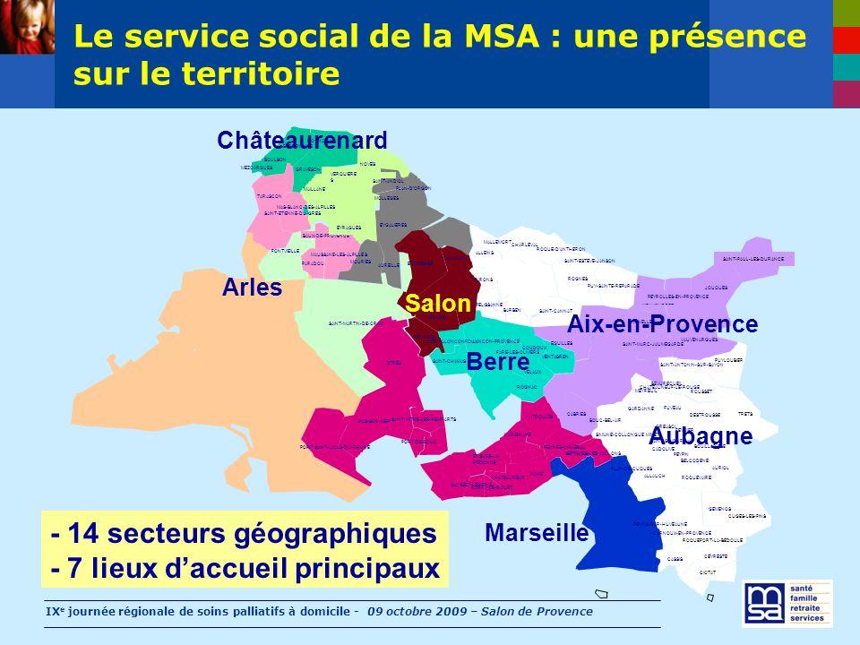 IX e journée régionale de soins palliatifs à domicile - 09 octobre 2009 – Salon de Provence ALLAUCH ALLEINS AUREILLE AURIOL AURONS BARBEN BARBENTANE B